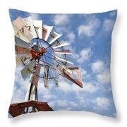 Heritage Farm Four Throw Pillow
