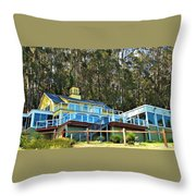 Heritage House Throw Pillow