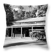 Heritage Town Of Echuca - Victoria Australia Throw Pillow