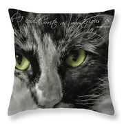 Hermione Quote Throw Pillow
