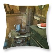 Hermits Cabin Throw Pillow
