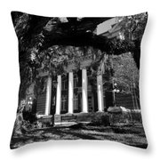 Hernando County Courthouse Throw Pillow