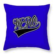 Hero Throw Pillow