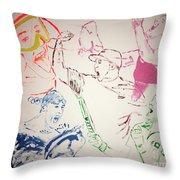 Heroes Celebrate Throw Pillow