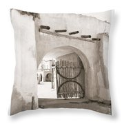 Heroes Gate Throw Pillow