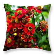 Heron Hill Garden Throw Pillow