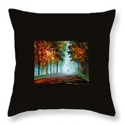 Heros From The Fog Throw Pillow