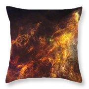 Herschel's View Of The Horsehead Nebula Throw Pillow