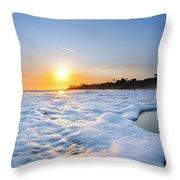 Hesler Sunset Throw Pillow