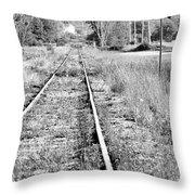 Hespeler Tracks Throw Pillow