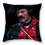 Hessian Jager Throw Pillow