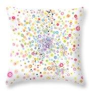 Heterogeneous Throw Pillow