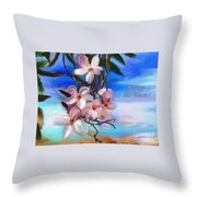 Heureuse St Valentin Throw Pillow