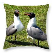 Hey Did You Hear The One About... Throw Pillow