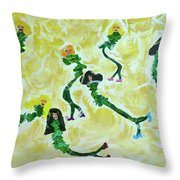 Hey Sole Sister Throw Pillow