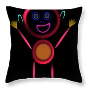 Hi Throw Pillow