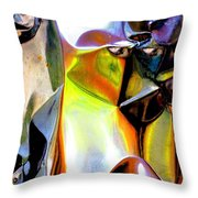 Hi, Ghost  Throw Pillow