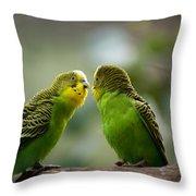 Hi Gorgeous Throw Pillow