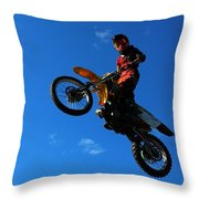 Hi There Throw Pillow by Gigi Dequanne