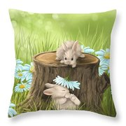Hi There Throw Pillow