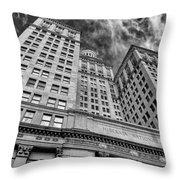 Hibernia National Bank Throw Pillow