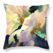 Hibicus Up Close Throw Pillow
