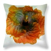 Hibiscus 13 Throw Pillow