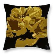 Hibiscus 14 Throw Pillow