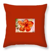 Hibiscus 2 Throw Pillow