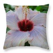 Hibiscus Beauty Throw Pillow