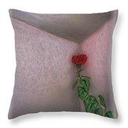 Hibiscus Climbing Throw Pillow