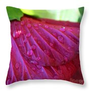 Hibiscus Square Throw Pillow