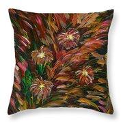 Hibiscus Surprise Throw Pillow