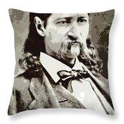 Hickok Throw Pillow