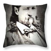 Hickok  Painterly 2 Throw Pillow