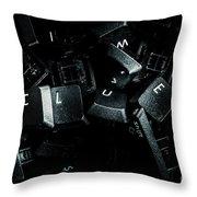Hidden By A Coverup Conspiracy Throw Pillow
