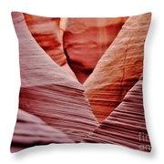 Hidden Canyon Angles. Throw Pillow