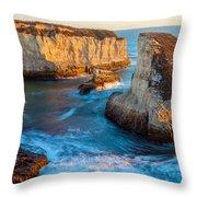 Hidden Cove Throw Pillow