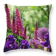 Hidden Garden Throw Pillow