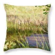 Hidden Grass Throw Pillow