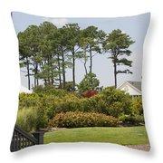 Hidden House Throw Pillow