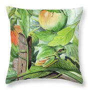 Hidden II  Throw Pillow