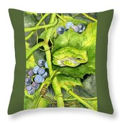 Hidden IIi Throw Pillow