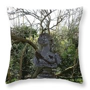 Hidden In The Garden Throw Pillow