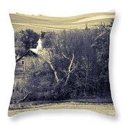 Hidden In Time Throw Pillow