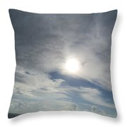 Hidden Kight Throw Pillow