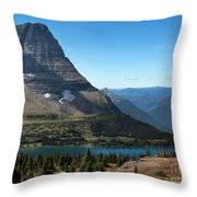 Hidden Lake - Glacier National Park Throw Pillow