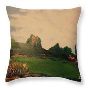 Hidden Meadow Throw Pillow