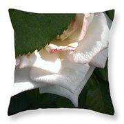 Hidden Rose Throw Pillow