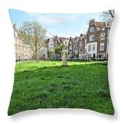 Hidden Square Throw Pillow